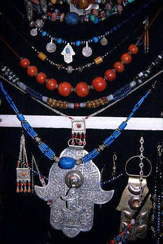 MOROCCO jewellery with Hand of Fatima Marrakesh MC15811