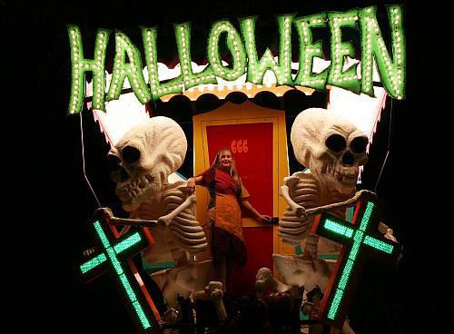 Night of Halloween in England