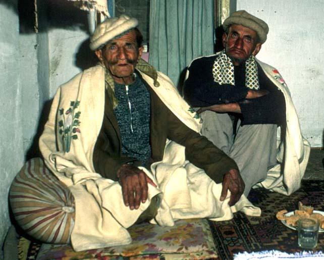 Wazir Murad, left, Karimabad, Hunza